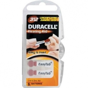 Baterie Duracell 312
